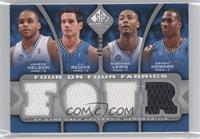 Jameer Nelson, J.J. Redick, Rashard Lewis, Dwight Howard, Mike James, Nick Youn…