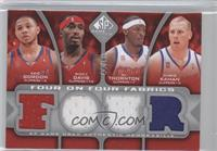 Eric Gordon, Ricky Davis, Al Thornton, Chris Kaman, Spencer Hawes, Donte Greene…