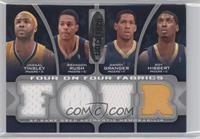Jamaal Tinsley, Brandon Rush, Danny Granger, Roy Hibbert, Rodney Stuckey, Arron…