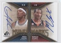 Andray Blatche, Marreese Speights