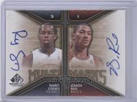 Rodney Stuckey, Derrick Rose