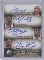 Jerryd Bayless, O.J. Mayo, Mike Conley, Derrick Rose /50