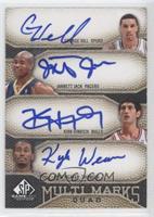 George Hill, Jarrett Jack, Kirk Hinrich, Kyle Weaver /99