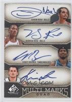 Joakim Noah, Derrick Rose, Corey Brewer, Kevin Love /50