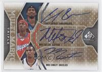 Corey Brewer, Mike Taylor, Mike Conley /100