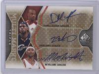 Darnell Jackson, LeBron James, Mo Williams /75
