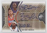 Lamar Odom, Eric Gordon, Bobby Brown /75
