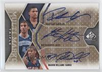 Rudy Gay, Kosta Koufos, Marvin Williams /100