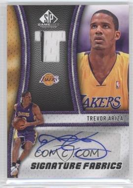 2009-10 SP Game Used Signature Fabrics [Autographed] #SF-TA - Trevor Ariza