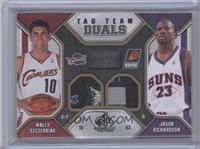 Wally Szczerbiak, Jason Richardson /10 [Near Mint‑Mint]