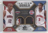 Speedy Claxton, Rodney Stuckey /10