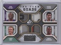 Kobe Bryant, Larry Bird, George Gervin, David Robinson /10