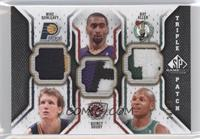 Mike Dunleavy, Quincy Douby, Ray Allen /60