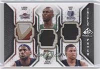 Lebron James, Kevin Garnett, Rudy Gay /60