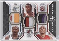 Mike James, Dorell Wright, Shawn Marion /60