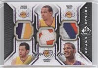 Jordan Farmar, Shannon Brown, Trevor Ariza /60
