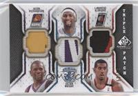 Jason Richardson, Julian Wright, LaMarcus Aldridge /60