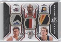 Wally Szczerbiak, Michael Redd, Mike Dunleavy /60
