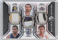 Shawne Williams, Peja Stojakovic, Shammond Williams, Wally Szczerbiak /60