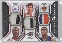 Thaddeus Young, Wally Szczerbiak, Wilson Chandler /60
