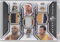 Jamaal Tinsley, Jared Dudley, Jordan Farmar /60