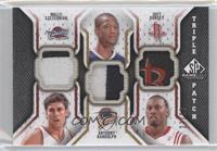 Wally Szczerbiak, Anthony Randolph, Joey Dorsey /60