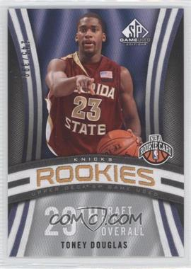 2009-10 SP Game Used #136 - Toney Douglas /399