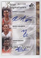 Ramon Sessions, Mario Chalmers, Aaron Brooks /199