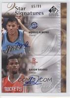 Morris Almond, Aaron Brooks /99