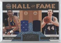 Alex English, Dan Issel /50
