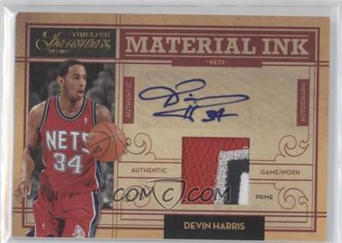 2009-10 Timeless Treasures Material Ink Prime #11 - Devin Harris /25