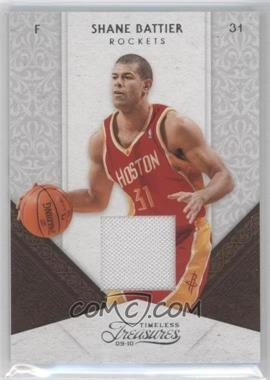 2009-10 Timeless Treasures Materials [Memorabilia] #69 - Shane Battier /100