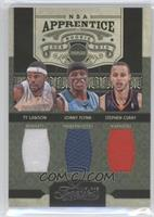 Jonny Flynn, Stephen Curry, Ty Lawson /100