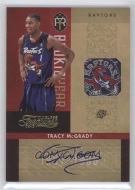 2009-10 Timeless Treasures Rookie Year Materials Laundry Tag Team Logo Signatures [Autographed] #15 - Tracy McGrady /1