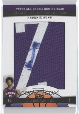 2009-10 Topps - All-Rookie Rewind Team Autographed Letterman Patch #ARLP-RL - Robin Lopez /4