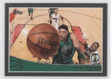 2009-10 Topps Black #12 - Paul Pierce /50