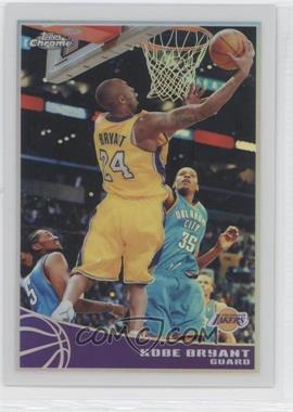 2009-10 Topps Chrome Refractor #44 - Kobe Bryant /500
