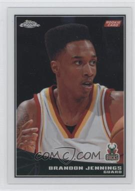 2009-10 Topps Chrome #102 - Brandon Jennings /999