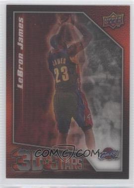 2009-10 Upper Deck - 3D Stars #3D-LJ - Lebron James