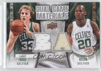 Ray Allen, Larry Bird