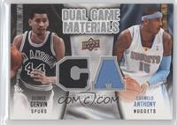 Carmelo Anthony, George Gervin