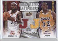 Magic Johnson, LeBron James