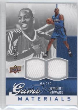 2009-10 Upper Deck - Game Materials #GJ-DH - Dwight Howard /545