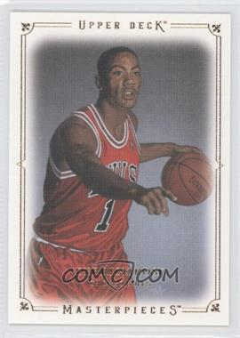 2009-10 Upper Deck - Masterpieces #MA-DR - Derrick Rose