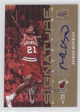 2009-10 Upper Deck - Signature Collection - [Autographed] #112 - Patrick Beverley