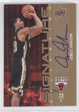 2009-10 Upper Deck - Signature Collection - [Autographed] #117 - James Johnson