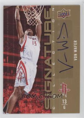 2009-10 Upper Deck - Signature Collection - [Autographed] #13 - Von Wafer