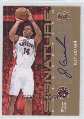 2009-10 Upper Deck - Signature Collection - [Autographed] #177 - Joey Graham