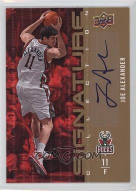 2009-10 Upper Deck - Signature Collection - [Autographed] #2 - Joe Alexander