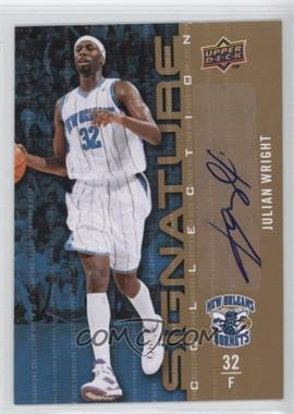 2009-10 Upper Deck - Signature Collection - [Autographed] #200 - Julian Wright